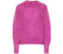 Pullover Ivah mit Mohair und Wolle