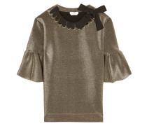 Top aus Metallic-Neopren