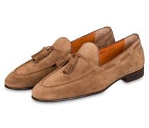 Tassel-Loafer CARLOS - HELLBRAUN