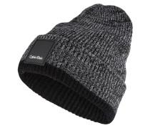 Mütze - grau/ schwarz meliert