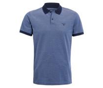 Piqué-Poloshirt - navy/ blau/ weiss
