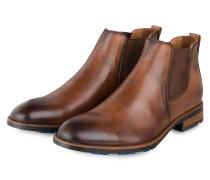 Chelsea-Boots JOST - BRAUN
