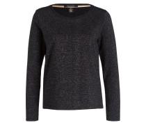Sweatshirt - schwarz/ silber