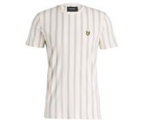 T-Shirt DECKCHAIR - ecru/ beige/ hellblau