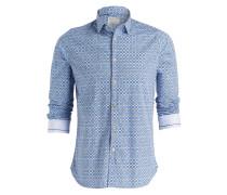 Hemd Slim-Fit - blau/ hellblau