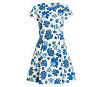 Kleid DESTO - offwhite/ blau
