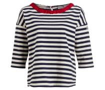 Shirt - weiss/ dunkelblau
