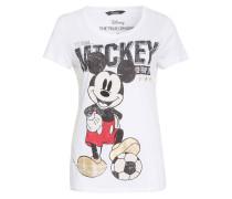 T-Shirt TEAM MICKEY mit Schmucksteinbesatz
