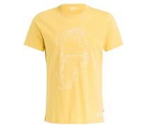 T-Shirt GREENLAND - gelb
