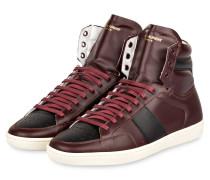Hightop-Sneaker - bordeaux