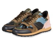 Sneaker CAMOUFLAGE - BLAU/ BEIGE/ ROSA