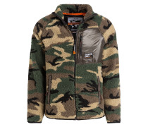Teddy-Fleecejacke MOUNTAIN SHERPA