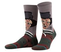 Socken FREDDY - schwarz/ braun