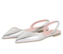 Sling-Ballerinas ELLA - SILBER