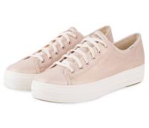 Sneaker TRIPLE KICK - ROSÉGOLD