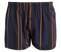 Web-Boxershorts - blau/ braun
