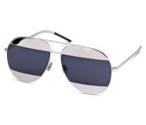 Sonnenbrille DIOR SPLIT - silber/ navy