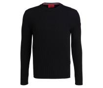 Schurwoll-Pullover SLOGEN