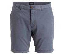 Chino-Shorts - graublau