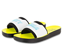 Sandalen SURF - WEISS/ HELLBLAU