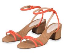 Sandaletten - ORANGE