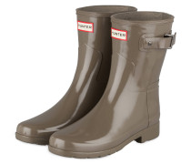 Gummi-Boots ORIGINAL SHORT GLOSS - khaki
