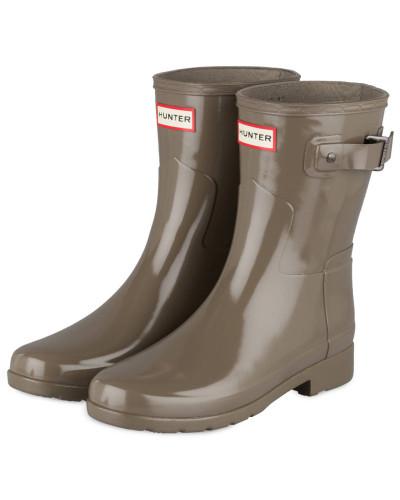Gummi-Boots ORIGINAL SHORT GLOSS - KHAKI