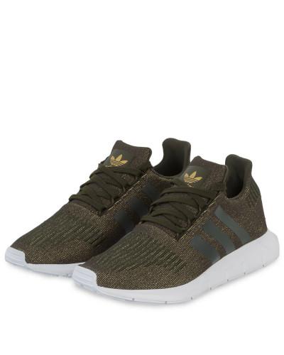 adidas Damen Sneaker SWIFT RUN - GRÜN Countdown-Paket  Um Online Kaufen Factory-Outlet-Verkauf Verkauf Niedrig Kosten 6uLCl