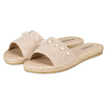 Sandalen im Espadrilles-Stil - BEIGE