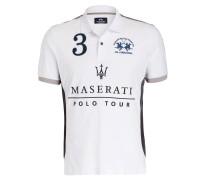 Piqué-Poloshirt Regular-Fit aus der MASERATI POLO