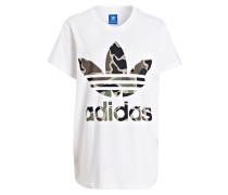 adidas t-shirts damen weiß