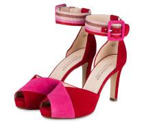 Sandaletten GANJA - ROT/ PINK