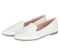 Lack-Loafer FAYE - WEISS