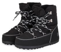 Boots DAVOS 4A - SCHWARZ/ SILBER