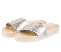 Sandalen POOL - nude/ silber