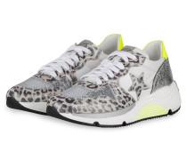 Plateau-Sneaker LOGAN 6 - GRAU/ SILBER