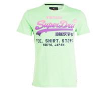 T-Shirt HYPER FADE - neongrün