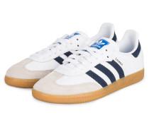 Sneaker SAMBA OG - WEISS/ NAVY