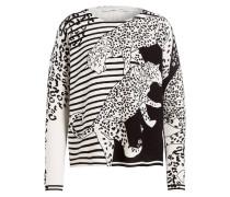 Pullover - schwarz/ offwhite