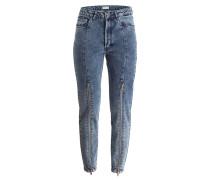 Girlfriend-Jeans CILLA - grey