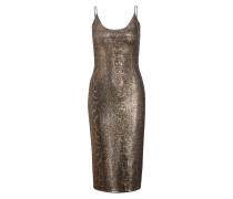 Kleid DELORA mit Glitzerbesatz