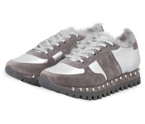 Sneaker - TAUPE/ SILBER