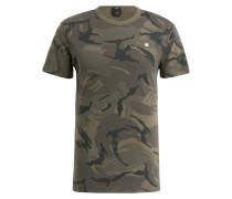 T-Shirt - oliv/ khaki/ dunkelgrün