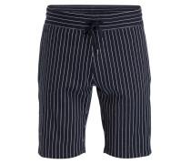 Shorts KALOR - marine/ weiss gestreift