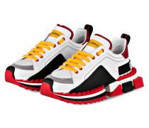 Sneaker SUPER KING - WEISS/ ROT/ GRAU