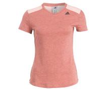 T-Shirt PRIME im Materialmix