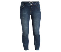7/8-Jeans - dark blue denim