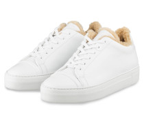 Plateau-Sneaker JOLIE ASPEN FUR - WEISS