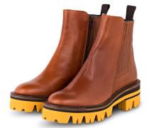 Chelsea-Boots - COGNAC