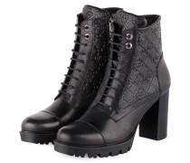 Schnür-Stiefeletten - 900 BLACK